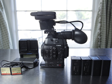 Rent: Canon C300 Body