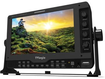 TVLogic 7' HGD-SDI field monitor, AC/DC, Portabrace case