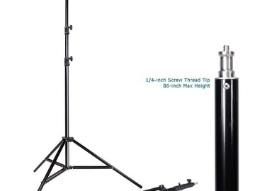 Rent:  Light stands