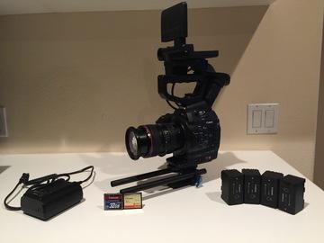 Rent: Canon C300 W/ 24-105mm f/4L lens