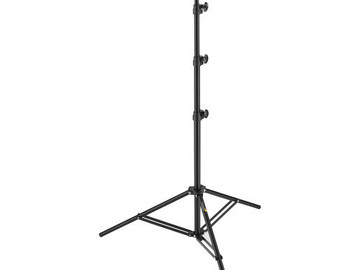 Rent: Impact Air-Cushioned Light Stand (Black, 8')
