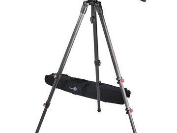Rent: Sachtler Telescopic Tripod TT 75/2 CF with FSB 8 Fluid Head