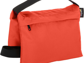 Rent: Impact Saddle Sandbag (15 lb, Orange)
