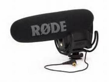 Rent: Rhode Video mic pro