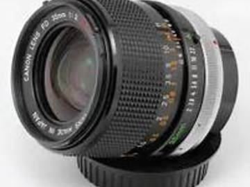 Rent: Canon FD 85 mm f1.8