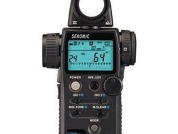 Rent: Sekonic L-758Cine U DigitalMaster Light Meter