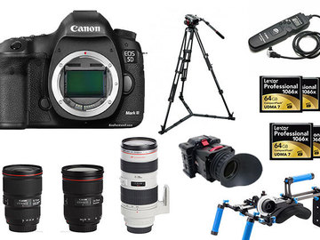 Rent: Full Canon 5D Mark III Package (2 of 3)