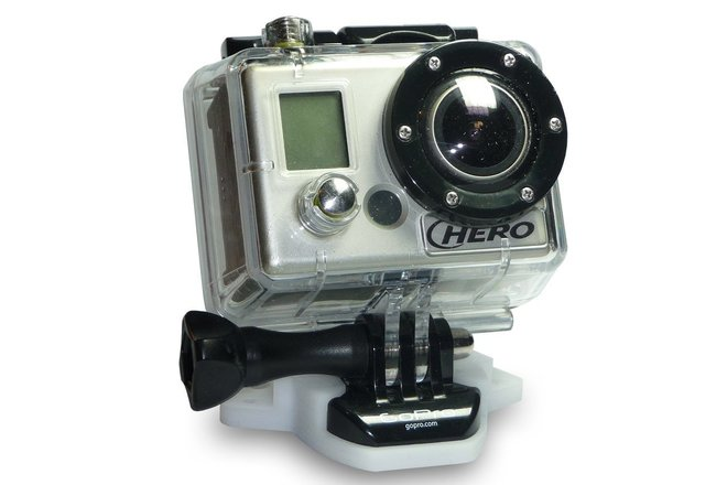 2 x GoPro HERO set w/accessories