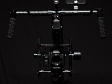 Rent: Sony A7SII REMOTE GIMBAL JIB RIG WITH TERADEK MONITOR