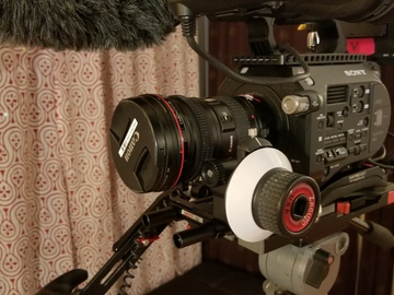 Rent: Sony PXW-FS7 Film Makers Best Package Camera, Sound, Rig