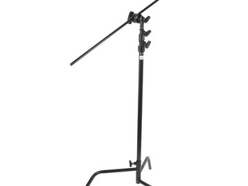 Rent:  Matthews Hollywood Century C Stand, Black - 10.5' (3.2m)