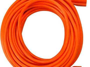 Rent: 25 ft Extension Cord with Standard Plug (Orange)
