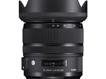 Rent: Sigma 24-70mm F2.8 Art OS lens