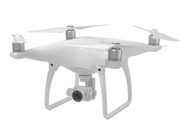 Rent: DJI Phantom 4 Pro with Extra Battery and Blades