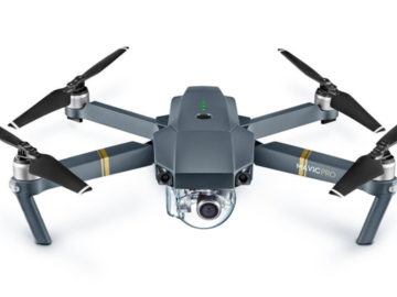 Rent: Drone DJI Mavic Pro with 2 batteries, remote and accessories