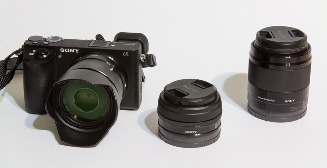 Sony  Alpha a6500 Mirrorless Digital Camera Kit