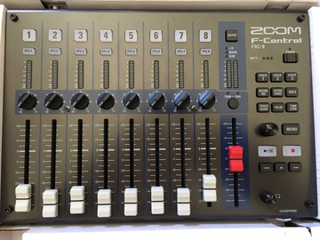 Rent: Zoom F-Control Mixing Controller for F8 and F4 Recorders
