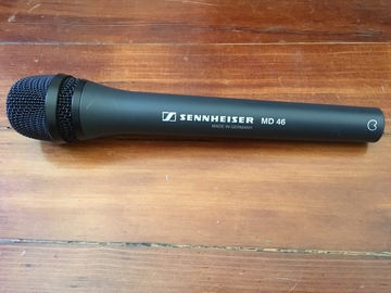 Rent: Sennheiser MD 46 Dynamic ENG Microphone