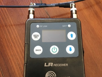 Rent: Lectrosonics  LR Reciever Block A1 (470-20) camera hop