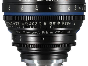 Rent: Zeiss Compact Prime CP.2 85mm T2.1