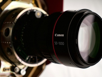 Rent: Canon 50-1000mm Zoom Lens T 5.6 - 8.7