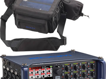 Rent: Zoom F8 Recorder w/ Shotgun Mic & 3 L'Appels Bundle