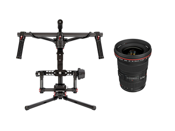 Rent: DJI Ronin + Canon 16-35mm 2.8 (6 Batteries, Powers Red)