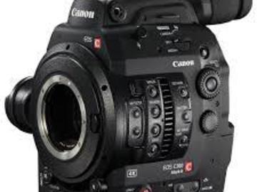 Rent: Canon C300 MkII EF