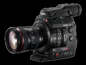 Canon C300 MkII Doc Kit: Canon f/2.8 Zooms + Miller Tripod