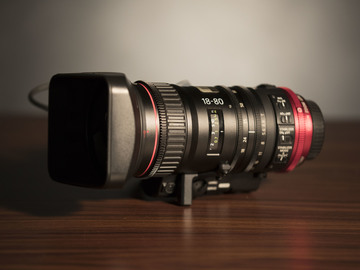 Rent: Canon CN-E 18-80mm T4.4 COMPACT-SERVO Cinema Zoom (1of2)