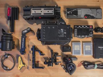 Rent: Panasonic VariCam LT 4K S35 ProEX-B Kit and Extra 512GB P2