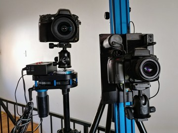Rent: Timelapse and Video Motion Control Slider Complete Kit