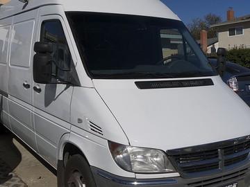 Rent: 3500 Sprinter Van Package with Driver/Grip