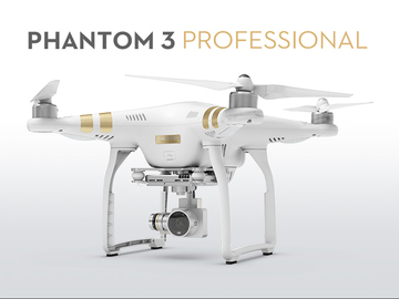 Rent: 4K Phantom 3 Professional w/Operator (Half Day)