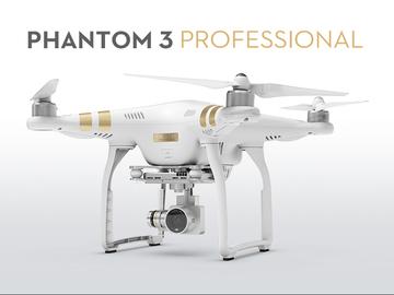 Rent: 4K Phantom 3 Professional w/Operator (Half Day)