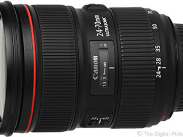 Rent: Canon EF 24-70mm 2.8L II USM Zoom Lens
