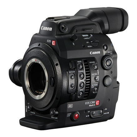 Canon EOS C300 Mark II Cinema Camera (with 128GB Cfast card)