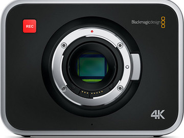 Rent: Black Magic 4k Package (Power + Lens + Support + Media)