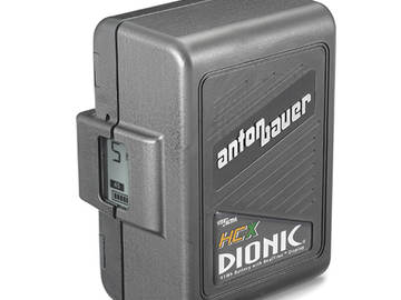 Rent: 4x Anton Bauer DIONIC HCX Battery w/ TM4 Quadcharger