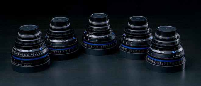 Zeiss Compact Prime CP.2 Lens Set (15,21,35,50,85) - EF