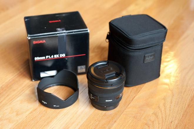 Sigma 50mm f/1.4 EX DG