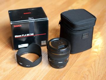 Rent: Sigma 50mm f/1.4 EX DG