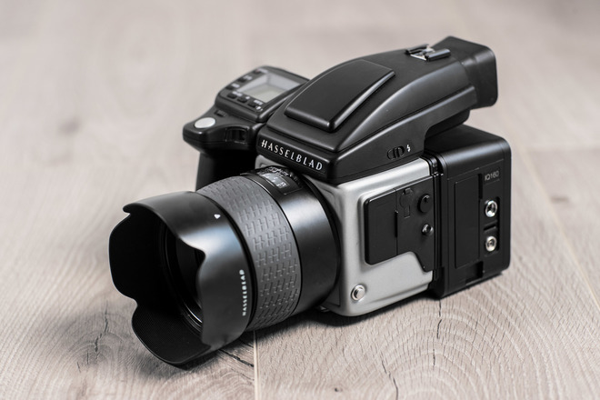 Phase One IQ160 Digital Back, Hasselblad H5X, HC Prime Lens