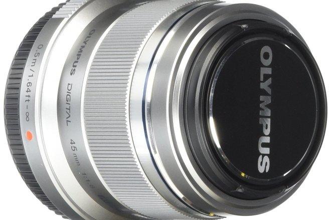 Olympus M. Zuiko Digital ED 45mm f1.8 m43 m4/3 lens
