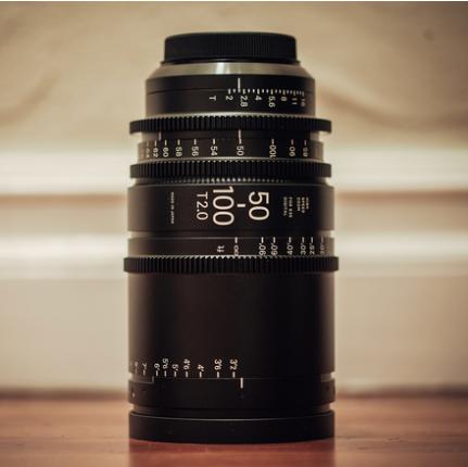 Sigma 50-100mm f/2.0 CINE LENS