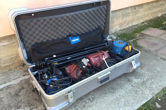 Arri/Mole Richardson 5 Light Kit with Chimera
