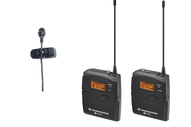 Sennheiser ew 122-p G3 Wireless Mic System w Lavalier Mic