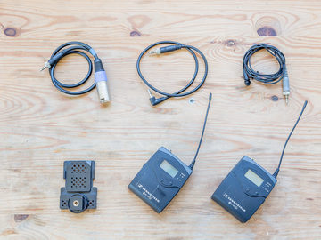 Rent: Sennheiser G2 Wireless Transmitter and Receiver - A Band