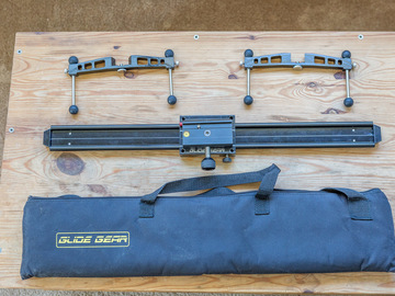 "Rent: Glide Gear 23.5"" Professional Camera Slider"