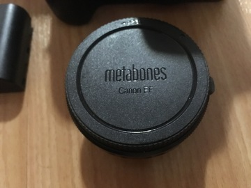 Rent: Metabones Canon EF Lens to Micro Four Thirds S Smart Adapter